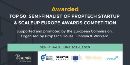 ProptechHouse EU top 50 Planalogic